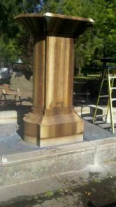 McMinnville Fountain Before